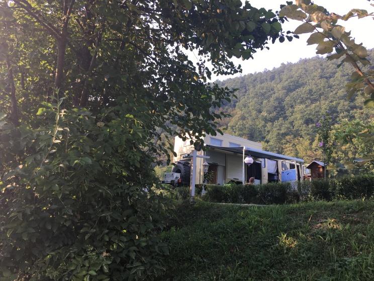 Kamp Una Bosnien